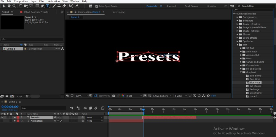 After Effects Presets - 17