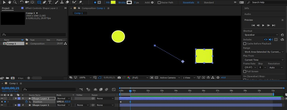 After Effects Timeline - 13