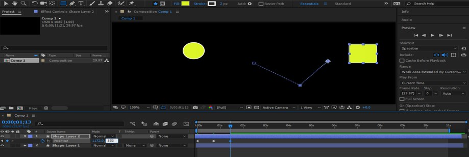 After Effects Timeline - 14