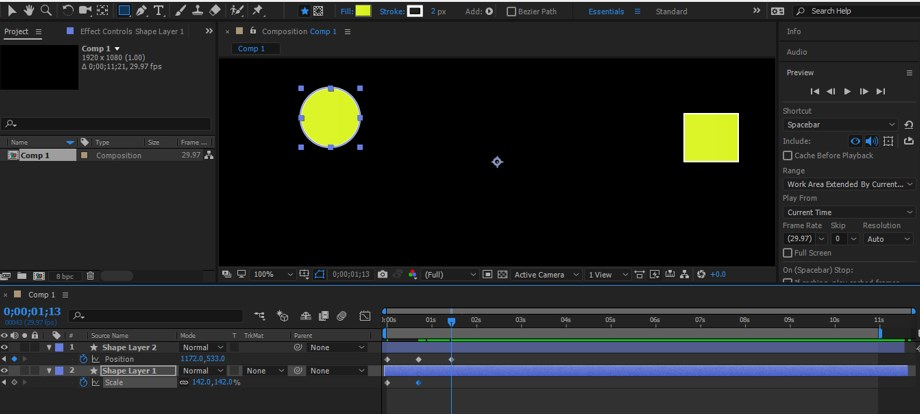 After Effects Timeline - 15