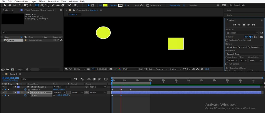 After Effects Timeline - 16