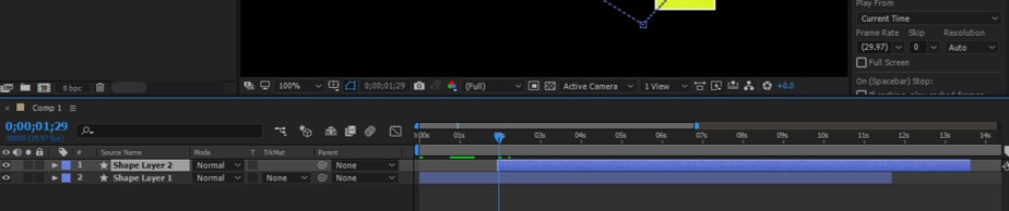 After Effects Timeline - 18