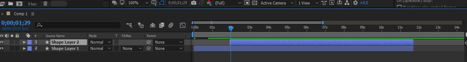 After Effects Timeline - 20