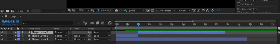 After Effects Timeline - 21