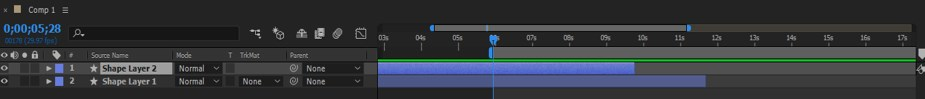 After Effects Timeline - 23