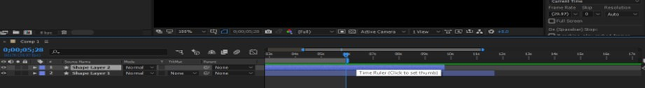 After Effects Timeline - 24