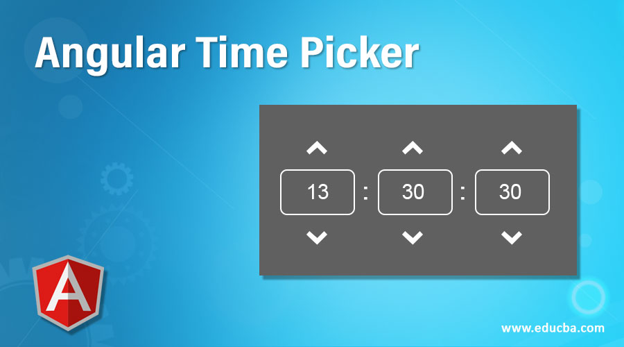 Angular Time Picker