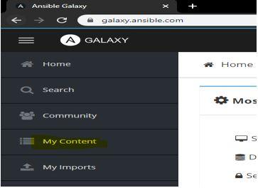 Ansible Galaxy21
