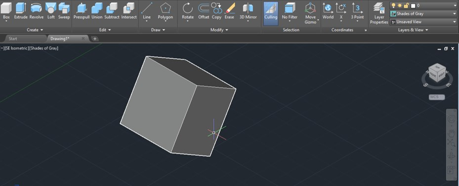 AutoCAD 3D Rotate - 11