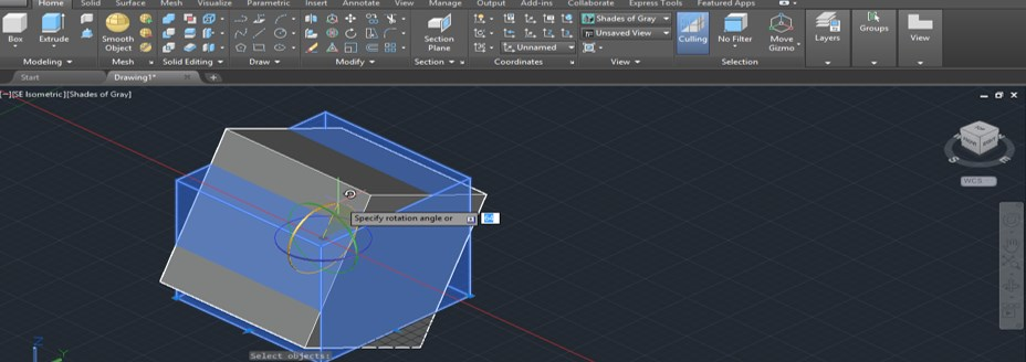 AutoCAD 3D Rotate - 17