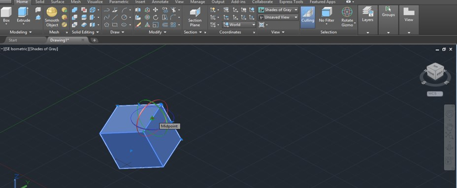 AutoCAD 3D Rotate - 19