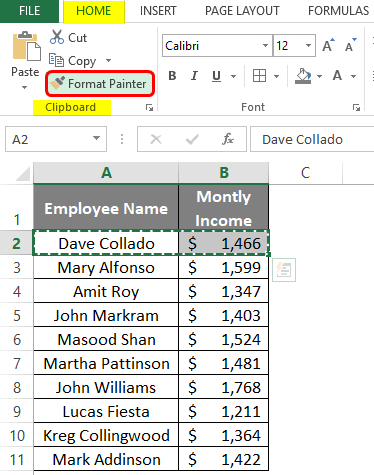 Autofit Row Height in Excel 1-3
