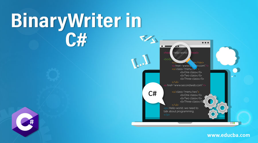 BinaryWriter in C#