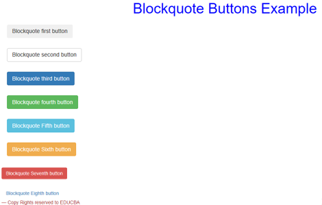 Bootstrap Blockquote - 3