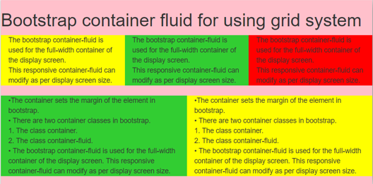 Bootstrap Container Fluid | Complete Guide to Bootstrap Container Fluid