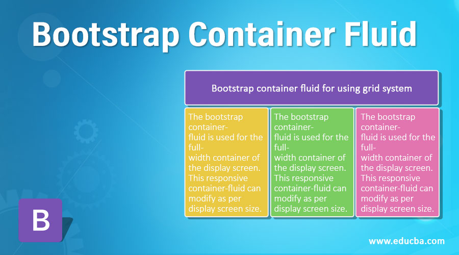 Bootstrap Container Fluid