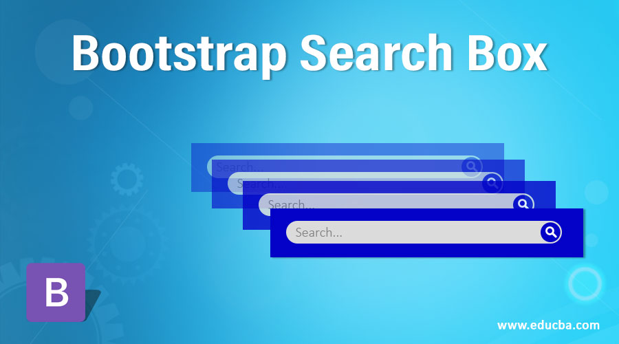 Bootstrap Search Box