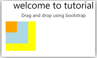 Bootstrap drag and drop output 1.2