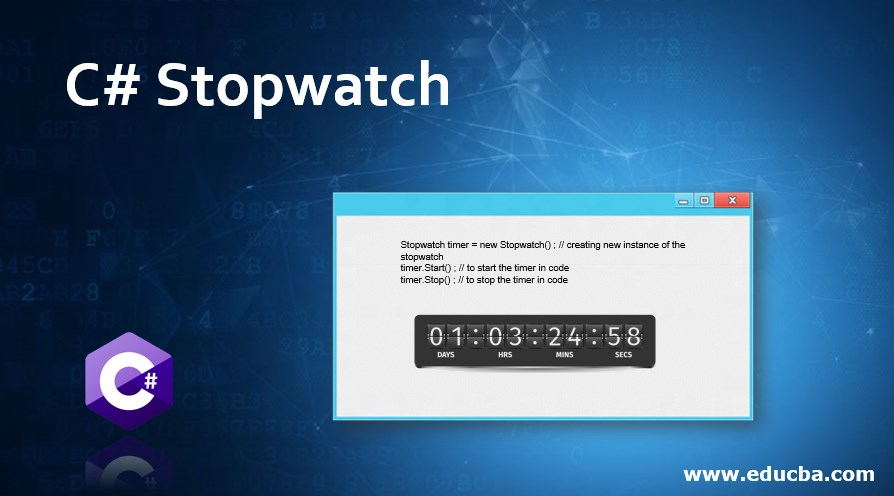 C# Stopwatch