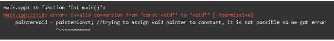 C++ Void Pointer output 2