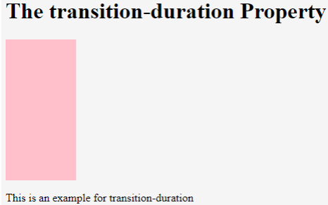 CSS Animation Transition Example 2