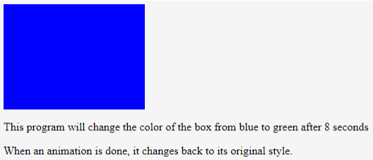 CSS Animation Transition Example 5