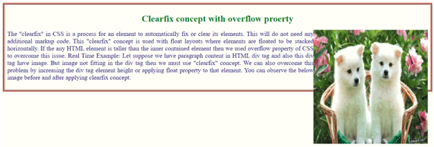 CSS Clearfix - 2