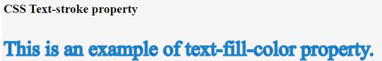 CSS text-stroke 4
