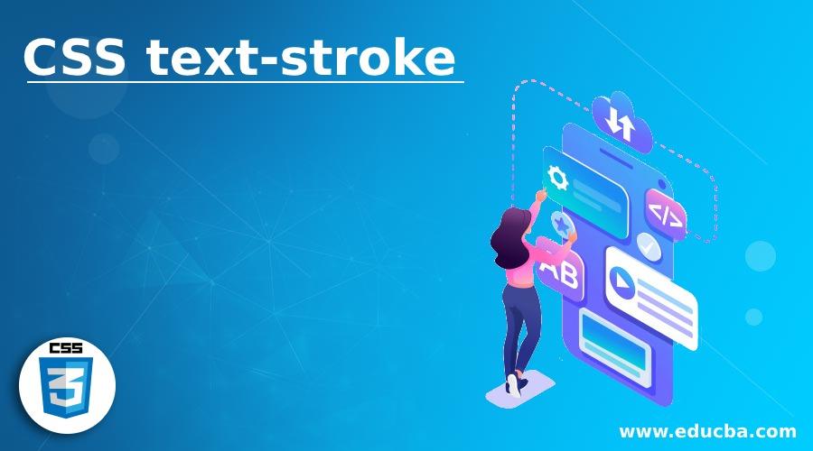 CSS text-stroke