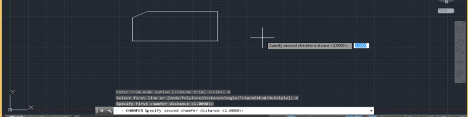 Chamfer in AutoCAD - 15