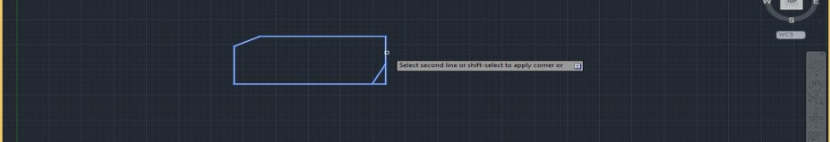 Chamfer in AutoCAD - 17