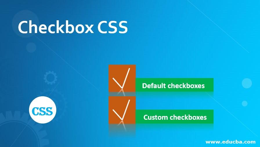 Checkbox CSS