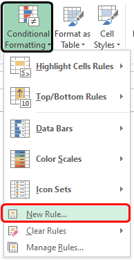 Color in Excel 1-2