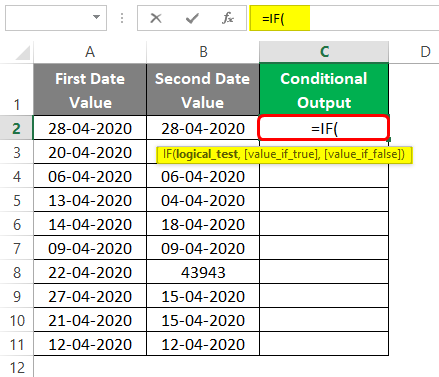 Conditional Output 3-1