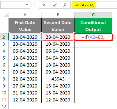 Conditional Output 3-2