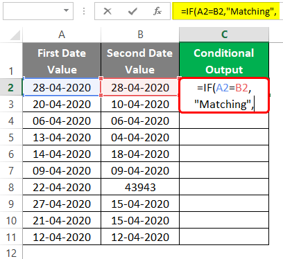 Conditional Output 3-3
