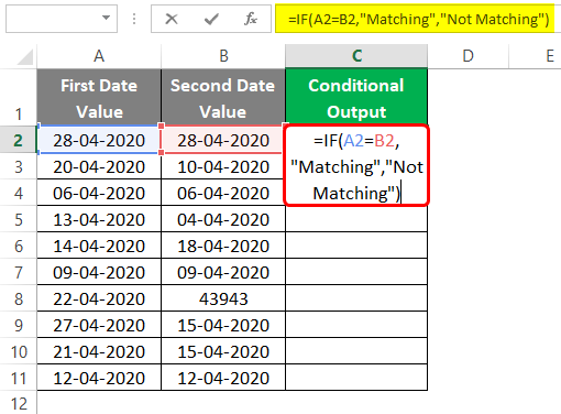 Conditional Output 3-4