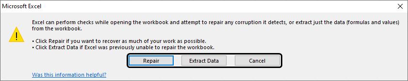 Excel Repair 1-3