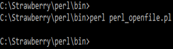 File Handling in Perl Example 7