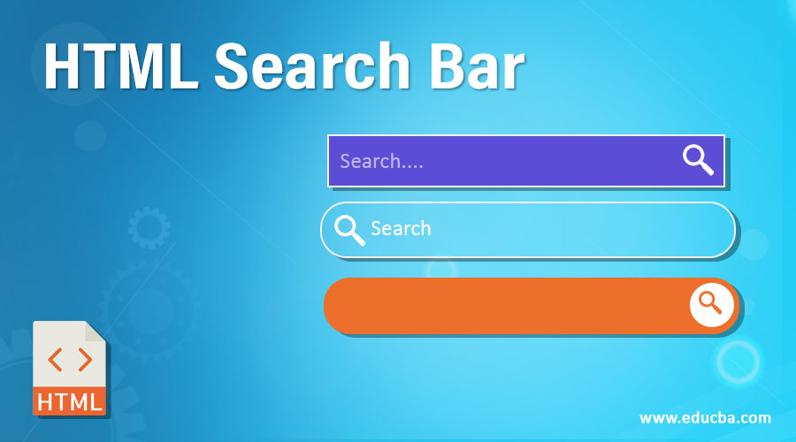 HTML Search Bar