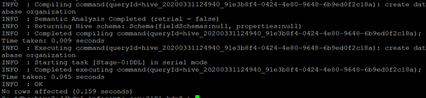 Hive Database Example 1
