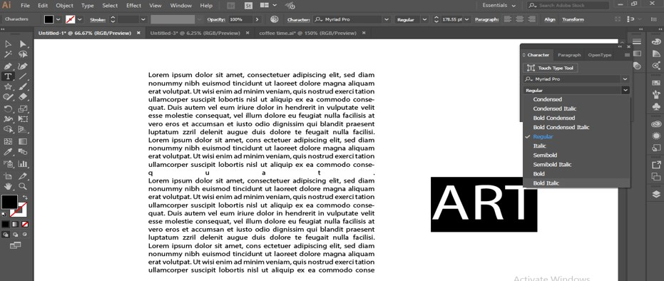 How to Warp Text in Illustrator - 13