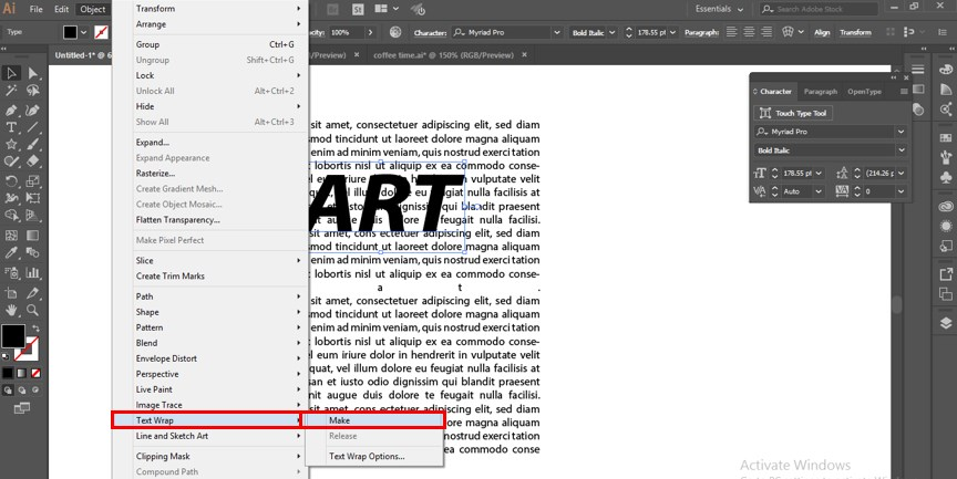 How to Warp Text in Illustrator - 14