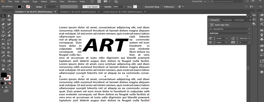 How to Warp Text in Illustrator - 16