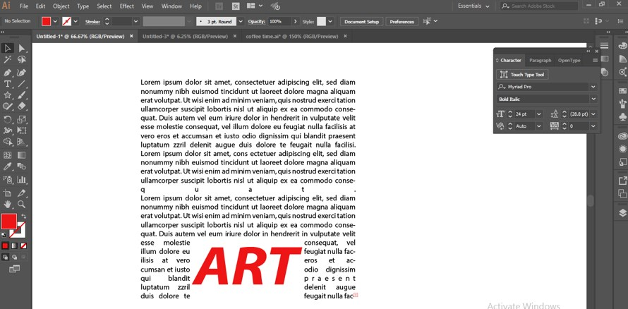 How to Warp Text in Illustrator - 18