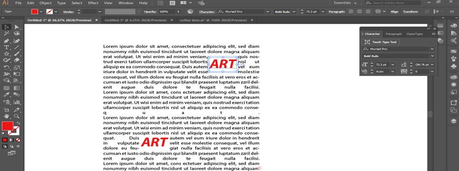 How to Warp Text in Illustrator - 20