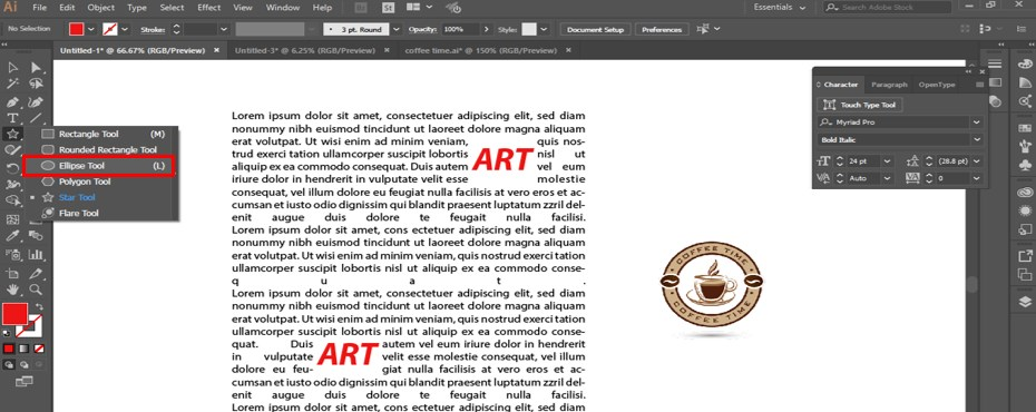 How to Warp Text in Illustrator - 24
