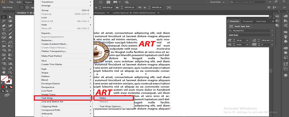 How to Warp Text in Illustrator - 27