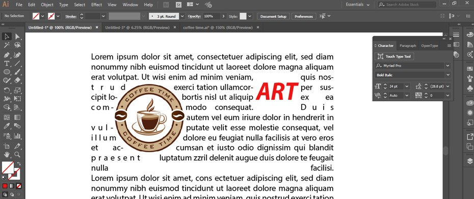 How to Warp Text in Illustrator - 28
