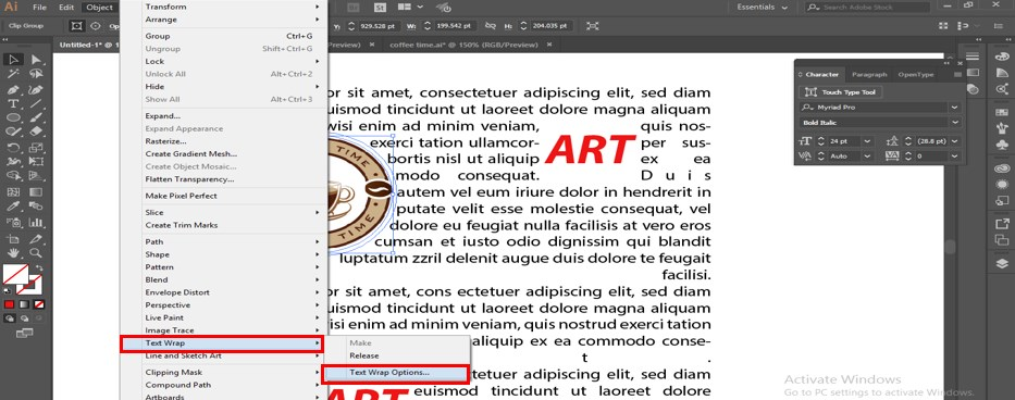 How to Warp Text in Illustrator - 29